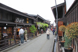Sake store and brewery (left) we visited in Old Town in Takayama
