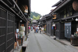A street in Old Town in Takayama