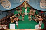 Kusakabe family display for the Tango-no-Sekku festival for boys (May 5) -  Kusakabe Heritage House in Old Town, Takayama