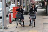 Schoolgirls in Takayama