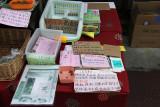 Natrual ingredients sold to treat diabetes, high blood pressure & cholesterol, insomnia & constipation - Morning Market Takyama