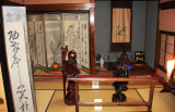 Room decorations in the Gassho style house of the Nagase family - Gassho-zukuri Village in Shirakawa-go