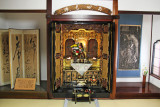 A shrine in the Nomura Family Samurai House in the Naga-machi Samurai District of Kanazawa