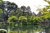 Horaijima Island in the Kasumiga-ike Pond of the Kenroku-en Garden - Kanazawa