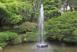 The oldest fountain in Japan - at the Kenroku-en Garden in Kanazawa