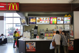 McD's - burgers with miso sauce - lunch stop while traveling from the Kutani Pottery Village to the Sea of Japan