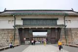 Main entrance gate to Nijo Castle in Kyoto