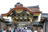 Karamon Main Gate to Ninomaru Palace and Garden complex in Nijo Castle in Kyoto
