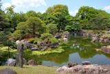 Ninomaru Garden - a traditional Japanese landscape garden in Nijo Castle in Kyoto