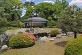 Koun Teahouse in Seiryu-en Garden in Nijo Castle in Kyoto
