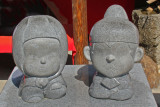 Hideyoshi & Nene (statues are several feet high) - seen while walking to a tea ceremony at the Kodaiji Temple in Kyoto