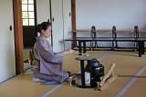 Tea ceremony at the Kodaiji Temple complex in Kyoto
