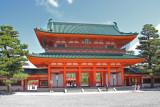 Outen-mon (Divine Gate) at the Heian-jingu Shrine in Kyoto