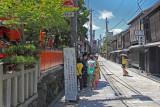 Gion (Geisha/Geiko) District in Kyoto
