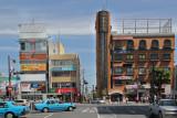 Neighborhood near the Kintetsu Nara Train Station - seen when we arrived in Nara from Kyoto