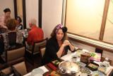 Judith at Ganko Takasegawa Nijoen (restaurant) in Kyoto