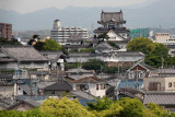 Kishiwada Castle in Osaka - seen while traveling from Kyoto to Kansai International Airport in Osaka for our flight home