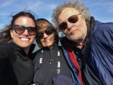 Aaren, Judy and Richard on the boat for Captain Mike's Dolphin Excursion - Tybee Island