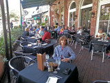 Judy - lunch in the City Market at Belford's Seafood and Steak - Savannah