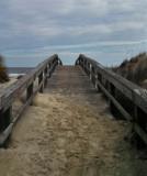 Walkway to the beach - North Coast of Tybee Island