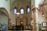 The bimah in Temple Mickve Israel (founded 1790) - in Savannah