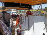 Aboard the boat for Captain Mike's Dolphin Excursion - Tybee Island
