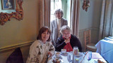 Judy, Renee and Mary Louise at the Olde Pink House Restaurant - Savannah