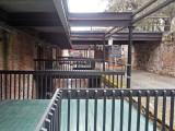 Rear entrances for the upper floors of the buildings on River Street - Savannah