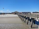 Fishing pier and pavilion - East Coast of Tybee Island