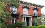 Mercer-Williams House - site of the events in the 1994 novel & movie, Midnight in the Garden of Good and Evil - Savannah