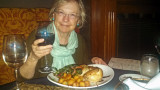 Judy B. at Leoci's Trattoria in Savannah - we had a superb dinner there with Jack and Judy