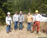 The Crew at Dot Lake