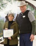 Service Award, Traci Koch
