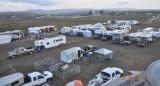 Panorama #1 of camp