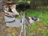 4 - Abandoned hunting camp.JPG
