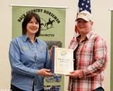 Backbone Award, Mary Owens - Grays Harbor Chapter (accepting for Mary was Cheryl Clark)
