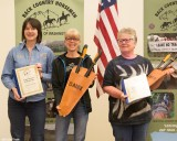 Lopper Award, Barbara Thomas and Claire Fisher - Mount St Helens Chapter