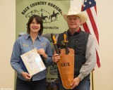 Lopper Award, Cate Bendock - Peninsula Chapter (accepting for Cate was Dan Dosey)