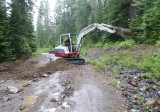 2329 Road - One mile S. of 56 Rd - Grading