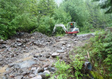 2329 Road - Two miles S. of 56 Rd - Four culverts
