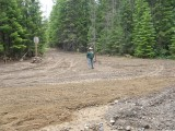 Road to Cody Horse Camp After Repairs