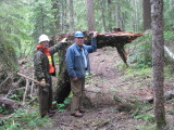 2016 Cowlitz Trail work party