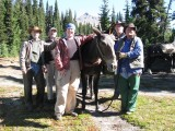 PCTA & USFS-CVRD for projects in the Goat Rocks Wilderness