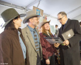 Kathy Young BCHW President, Dr Jack and Laurie Gillette meeting Governor Inslee