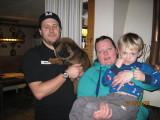 Chevelle med sin nya familj bor i Skepplanda.