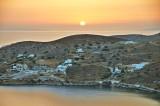 Sunset in Ios.