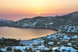 Sunset in the Aegean sea.