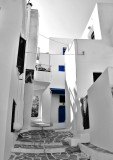 In the alleys of Naxos.