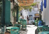 In the alleys of Chora, Amorgos.