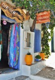 Shop with traditional products in Chora, Amorgos.
